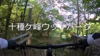 [オンボード映像]十種ケ峰ウッドパークのダウンヒルコースを解説しながら走ってみた。