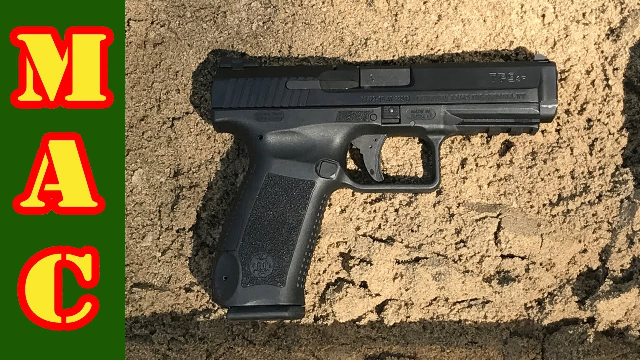 Century Arms Canik TP9 SF Reliability Test - YouTube