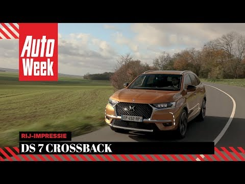 DS 7 Crossback – Rij-impressie – English subtitles