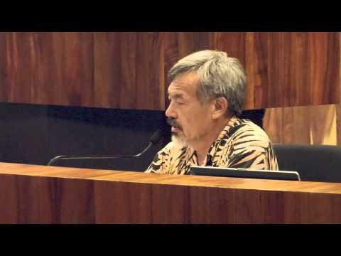Dr Lorrin Pang for SHAKA Testimony County Council