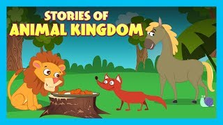 STORIES OF ANIMAL KINGDOM |  STORIES FOR KIDS | TRADITIONAL STORY | T-SERIES