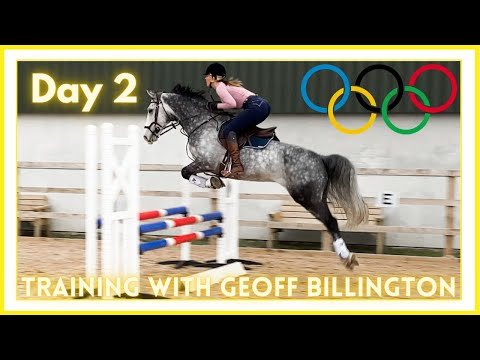 🏆TRAINING WITH OLYMPIC SHOWJUMPER: GEOFF BILLINGTON - DAY 2 | Riding With Charlotte