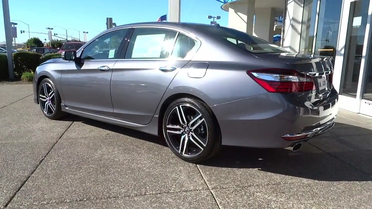 2016 Honda Accord For Sale >> All New 2016 Honda Accord Sport Research Price Quote Deals Youtube