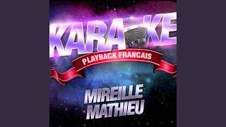 Trois Milliards De Gens Sur Terre — Karaoké Playback Avec Choeurs — Rendu Célèbre Par...