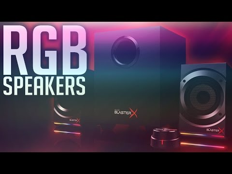 RGB Speakers | Creative Sound Blaster S5 |