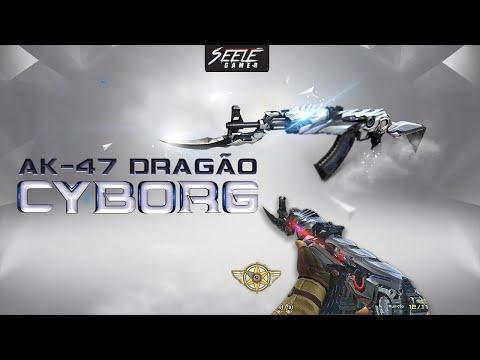 AK-47 Dragão Cyborg (VIP)