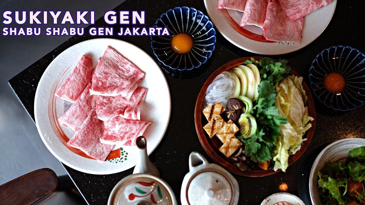 Shabu Gen Best Japanese Restaurant Shabu Terbaik di Jakarta