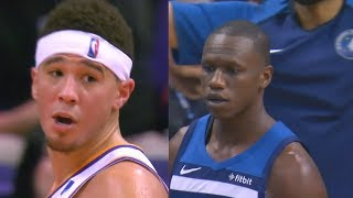 Devin Booker Wanna Fight Gorgui Dieng In The Tunnel After Scuffle! Timberwolves vs Suns