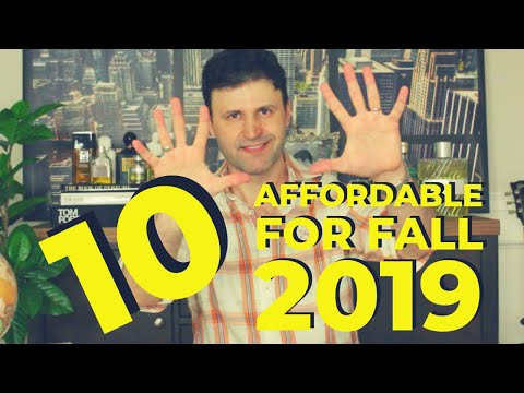 TOP 10 Affordable Fall Fragrances 2019 | MAX FORTI