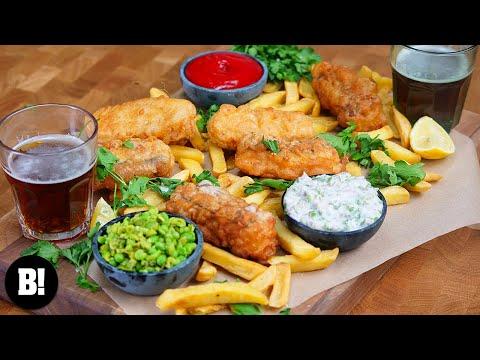 Crispy Vegan Fish & Chips Recipe!
