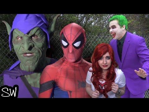 SPIDER-MAN & The JOKER vs GREEN GOBLIN - who got Mary Jane?