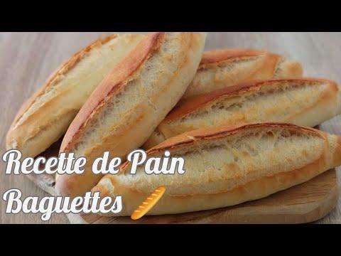 recette-de-pain-baguettes-🥖-#recettedepain#recettedebaguettes#baguettes#pain#brod#yummy#ekmek