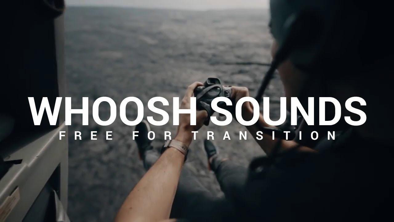 10 WHOOSH Transition Sound Effects Pack