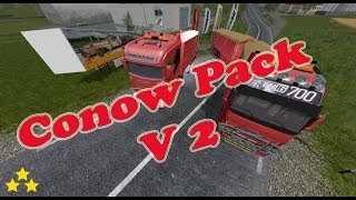 "[""Scania R1000"", ""Volvo FH16"", ""Mod Vorstellung Farming Simulator Ls17:Conow Pack"", ""Conow Pack""]"