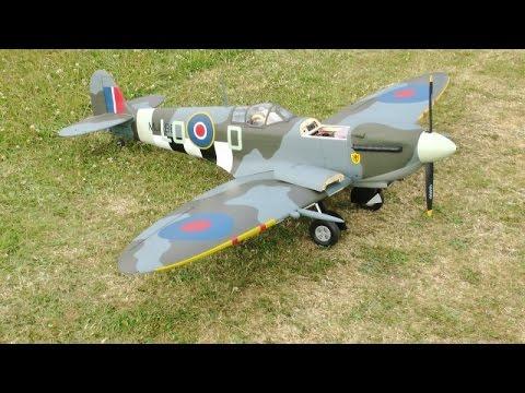 The Hangar 9 Spitfire IXC 30cc ARF 81