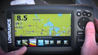 Lowrance Elite 7 HDI Fish Finder with Down Scan Overview