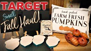 TARGET HAUL | Fall Decor & Craft Supplies for DIYs | September 13, 2019