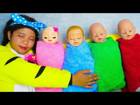 Rock a Bye Baby Nursery Rhyme Song for Kids