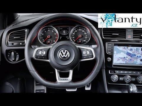 Welp Demontage van het stuur + AirBag Vw Golf mk7 GTI / GTD - YouTube EI-56