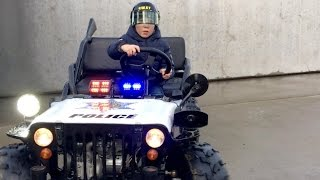 Kids Willys JEEP SKATER gets busted by S.W.A.T. - Chief Jack Jack (4)
