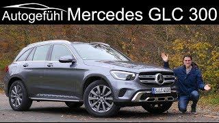 Mercedes GLC FULL REVIEW Facelift GLC 300 - better than the BMW X3?  Autogefühl