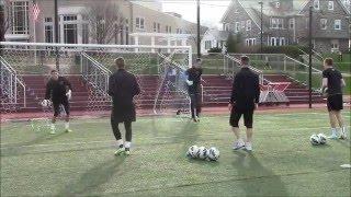 Saint Joseph's University Men's Soccer Goalkeeper Training April 16 2015