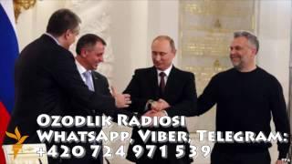 Uzbek Путин СССРни тиклашга ҳаракат қилаяпти