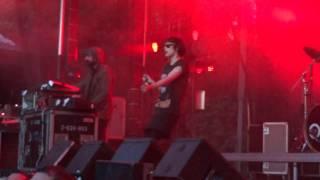 Crystal Castles Courtship Dating Live Montreal Osheaga 2011 HD 1080P