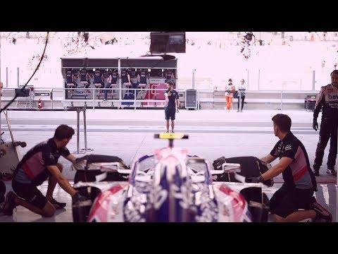 Behind-the-Scenes at the Abu Dhabi Grand Prix!