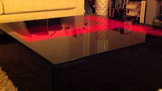 Raspberry Pi Powered Daft Punk Table Shows Messages From Twitter