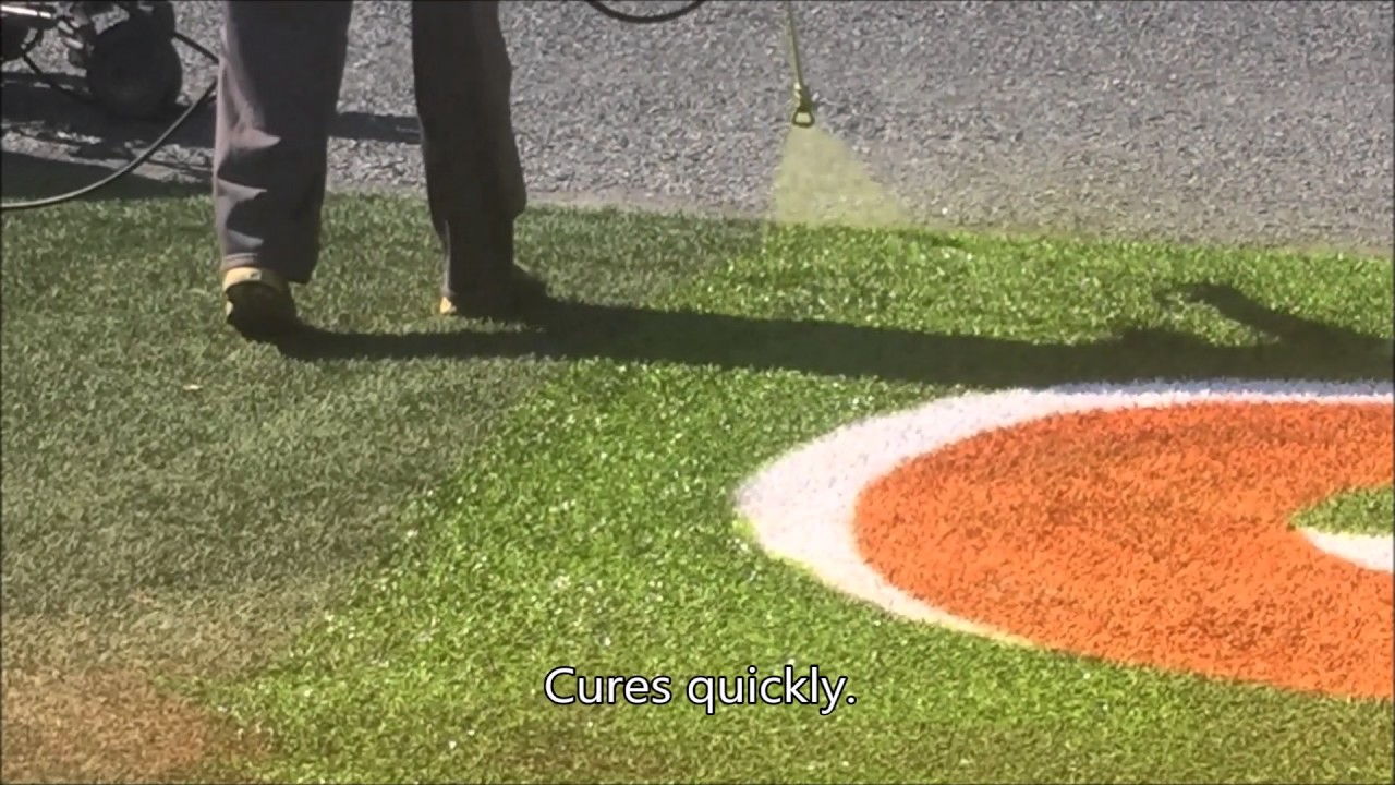 Permanent Green Paint To Make Old Synthetic Turf