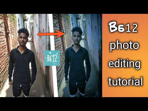 How To Edit Professional Photo From B612 Camera & Photo Editing App||photo Editing Tutorial||#techby