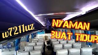 """""""SUGENG RAHAYU W7211uz Sopir Lawak ! Setirane Puwenak"""" Trip Report Bus Sumber Group"""