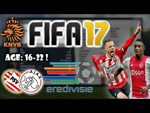 Fifa 17: best talents to sign from eredivisie  (dutch league)