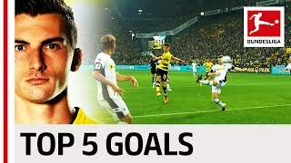 Maximilian Philipp - Top 5 Goals
