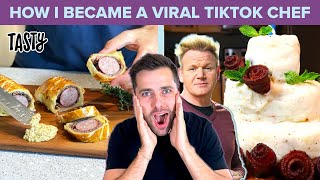 How I Got Gordon Ramsay To React To My TikTok Recipes • Tasty