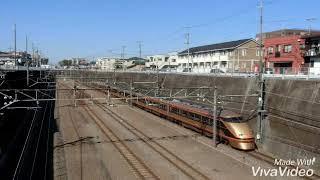 スペーシア八王子日光号一番列車・東所沢駅通過