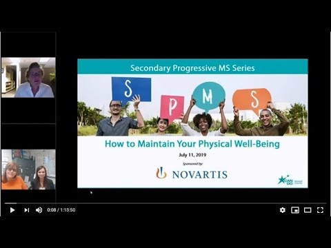 Secondary Progressive MS Series: How to Maintain Your Physical Well-Being