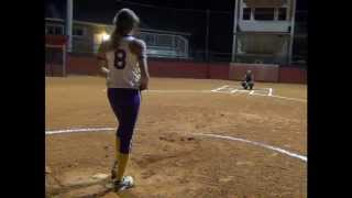 korina rosario fastpitch softball skills video pitching