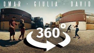 360° VIDEO DANCE 😱 Great  VR dance!!!!