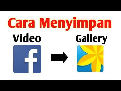 Cara Menyimpan Video Facebook ke Gallery | gak pake ribet