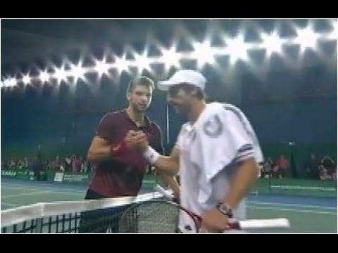 Grigor Dimitrov vs. Pablo Cuevas 6-0, 6-3 BNP Paribas Masters Paris (R32) 29.10.2014.