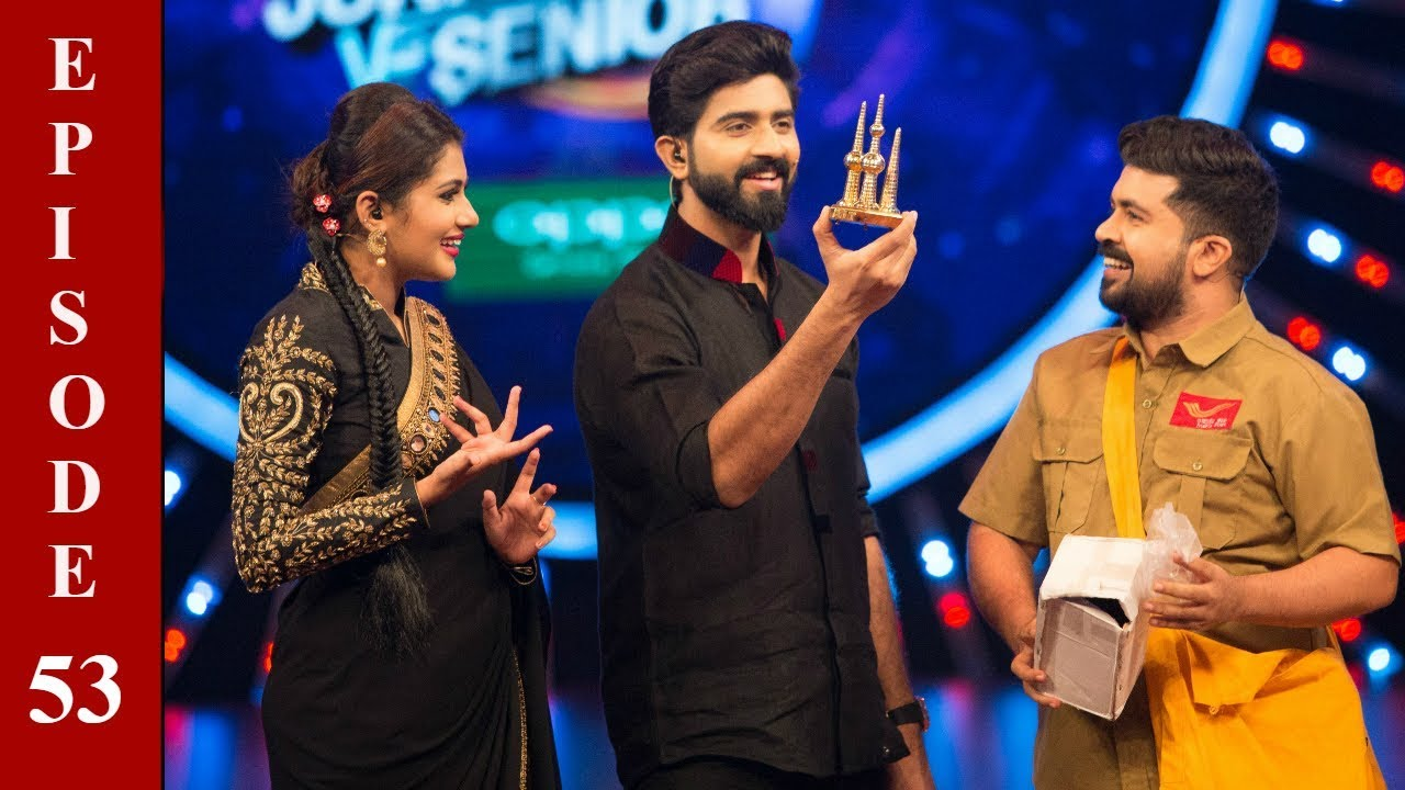 D4 Junior Vs Senior I Ep 53 - A Special gift for special one I Mazhavil Manorama