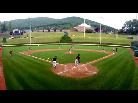 2016 Williamsport Little League Overnight Baseball Camp - Week 5 Yankees vs Indians