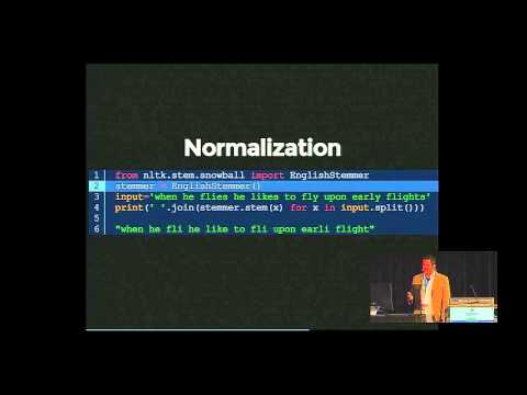 Ned Jackson Lovely: Enough Machine Learning to Make Hacker News Readable Again - PyCon 2014