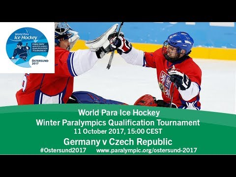 Germany v Czech Republic | PyeongChang 2018 Qualification Tournament | Ostersund
