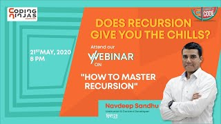 How to Master Recursion