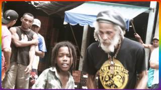 Norris Cole Junior & Cedric Myton - WAR WAR INNA BABYLON [Official Music Video HD] February 2013