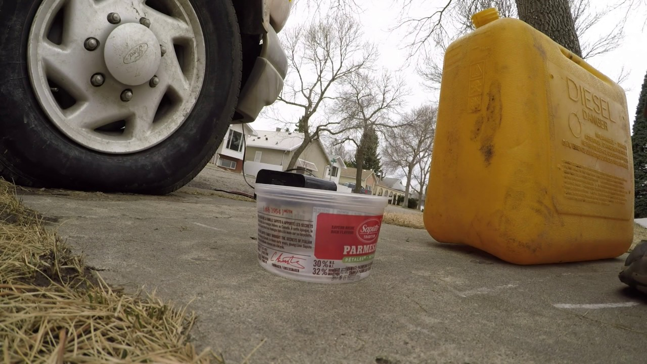 73l Powerstroke Fuel Filter And Prime Youtube