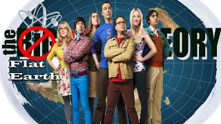 Flat Earth in TV Shows: The Big Bang Theory Sheldon and His Mother discuss Religion & Flat Earth